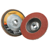 3M Cubitron II Flap Disc 967A, 4 1/2 in, 60 Grit, 13,300 rpm, Type 29, 10 CA, #7100032359