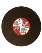 "14"" x 1/8"" (5/32) x 20mm Extra Heavy-Duty, High Speed Cut-Off Wheel for Portable Gas Saw -Triple Reinforced, Mercer Abrasives 607040 (10/Pkg.)"