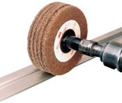 3M Scotch-Brite Buffing Discs, 3 in, 10,000 rpm, Aluminum Oxide, Tan, 1 EA, #7000045941