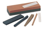 Norton Half Round Abrasive File Sharpening Stones, Medium, 5 BOX, #61463686400