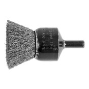 "Advance Brush Standard Duty Crimped End Brushes, Stainless Steel, 20,000 rpm, 1"" x 0.006"", 1 EA, #82991"