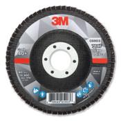 3M Flap Disc, 4.5 in x 7/8 in, 769F T27, 40+ Grit, 10 CA, #7100177446