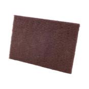 CGW Abrasives Premium Non-Woven Hand Pads, Medium, Maroon, Bulk Pack, 1 EA, #36288