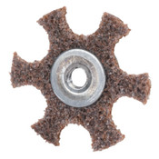 Merit Abrasives Surface Preparation Star 4 X 1/4-20 Coarse, 1 EA, #8834185932