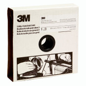3M 314D Utility Cloth Rolls, 1 in, 50 yd, P220 Grit, 1 RL, #7000118509