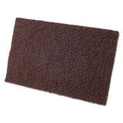 CGW Abrasives Non-Woven Hand Pads, Coarse, Maroon, 10 EA, #36241