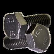 M6-1.00x16 mm (FT) Hex Cap Screws 10.9 DIN 933 / ISO 4017 Coarse Alloy Plain (100/Pkg.)
