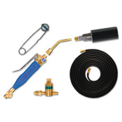 Goss Brass Extension Torch Kits, 4 in, Propane, 1 EA, #KP104H