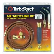 Esab Welding Torch Kit Swirls, Acetylene, X-5B, B Tank, 1 ea, #3860338