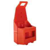 Gentec Tote-A-Torch Accessories, Carrier Only, Red, 1 EA, #CRT10