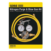 Goss Nitrogen Purge & Blow Gun Kits, High Pressure Regulator, 6 ft Hose, Blow Gun, 1 EA, #KPN1