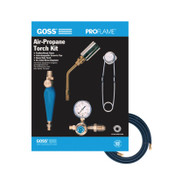 Goss Air-Propane Torch Outfits, 1-3/4 in, Propane, Heating; Soldering, 1 KT, #KP105