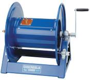 Coxreels Large Capacity Welding Reel, #2-600ft;#1-500ft;#1/0-400ft;#2/0-300ft, Hand Crank, 1 EA, #1125WCL12C