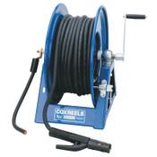 Coxreels Large Capacity Welding Reel, #2-300ft;#1-250ft;#1/0-200ft;#2/0-150ft, Hand Crank, 1 EA, #1125WCL6C