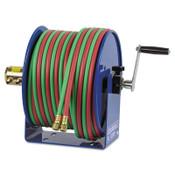 Coxreels Twin-Line Welding Hose Reels, 50 ft, Hand Crank, 1 EA, #112W150