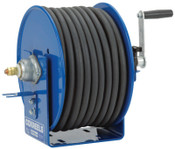 Coxreels Challenger Hand Crank Welding Cable Reels, 165 ft, 2/0 AWG, 1 EA, #112WCL602