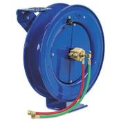 Coxreels Spring Driven Welding Hose Reels, Oxygen-Acetylene Dual Hose, No Hose, 1 EA, #SHWLN1100
