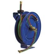 Coxreels Spring Driven Welding Hose Reels, 75 ft, Oxygen-Acetylene Dual Hose, 1 EA, #SHWN175