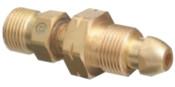 Western Enterprises Brass Cylinder Adaptors, CGA-510 POL Acetylene To CGA-300 Commercial Acetylene, 1 EA