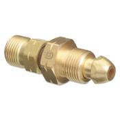 Western Enterprises Brass Cylinder Adaptors, CGA-510 POL Acetylene To CGA-410 Canadian Acetylene, 10 EA
