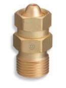 "Western Enterprises Brass Cylinder Adaptors, CGA-200 ""MC"" Acetylene To CGA-300 Commercial Acetylene, 1 EA"