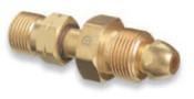 Western Enterprises Brass Cylinder Adaptors, From CGA-580 Nitrogen To CGA-350 Hydrogen, 1 EA