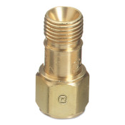 Western Enterprises Check Valves, Bushing,  1/4 in NPT, Oxygen, B Size, RH, 10 EA