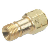 Western Enterprises Check Valves, 1/4 in NPT, Fuel Gas, M/M, LH, 10 EA