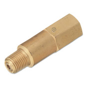 Western Enterprises Inline NPT Check Valve, 1/4 in NPT, M/M, 3,000 PSI, 1 EA
