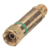 Western Enterprises Flashback Arrestor Components, Oxygen, Regulator Adaptor, 1 EA, #FA130P