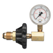 Western Enterprises Cylinder Pressure Testing Gauges, Air, Brass, CGA-346, 1 EA, #G346H