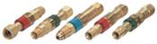 Western Enterprises Quick Connect Components, Male Plug, Fuel Gas, 1 EA, #QDB205