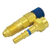Western Enterprises Quick Connects, Regulator-to-Hose, QDB300 Plug (M); QDB301 Socket (F), Inert Gas, 1 EA, #QDB33