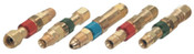 Western Enterprises Quick Connects, Hose to Machine, QDB302 (M) Plug; QDB303 (F) Socket, Inert Gas, 1 EA, #QDB34