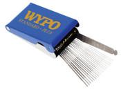 WYPO Tip Cleaner Kits, #6 - 26 (3 Each of #6,7,8,10), w/ File, 1 EA, #STANDARDPLUS