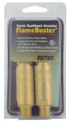 Esab Welding FlameBuster™ Flashback Arrestors, FB-1; HD, Oxy/Fuel, B 9/16 in-18 RH/LH, Torch, 1 EA, #6560001
