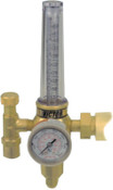 Esab Welding HRF2400 Single Stage Regulators/Flowmeters, Argon/CO2/Helium, CGA580, 3,000 psig, 1 EA