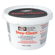 Harris Product Group Stay-Clean® Paste Soldering Flux, Tub, 1 lb, 1 EA