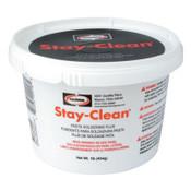 Harris Product Group Stay-Clean® Paste Soldering Flux, Brush Cap Dispenser, 4 oz, 1 EA