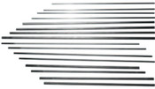 Esab Welding DC Copperclad Gouging Electrodes, 1/8 in X 12 in, 100 PK, #22023003