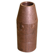 Bernard Quick Tip Nozzle, 1/2 in, Copper, 10 EA