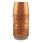 Bernard Mig Nozzles, Flush, 5/8 in Bore, For Q-Gun, Copper, 1 EA, #N5800C