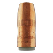 Bernard Centerfire Nozzles, 1/4 in Tip Recess, 5/8 in Bore, For Q-Gun, Copper, 1 EA, #N5814C