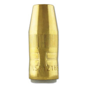 Bernard Centerfire Nozzles, 1/8 in Tip Recess, 1/2 in Bore, For Q-Gun, Brass, 1 EA, #NS1218B