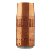 Bernard Nozzle Assemblies, Flush, 5/8 in Bore, For Q-Gun, Copper, 1 EA, #NS5800C