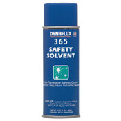 Dynaflux Safety Solvents, 15.1 oz Aerosol, Clear to Amber, 12 EA, #DF36516