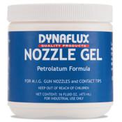 Dynaflux Nozzle Gels, 16 oz Plastic Jar, Blue, 1 EA