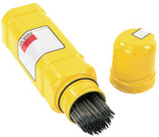 Phoenix Safetube Rod Containers, For 14 in Electrode, HDPE Plastic, Yellow, 1 EA