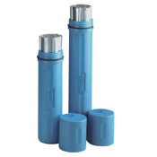 K.I.W.O.T.O. Inc. Polyethylene Canisters, For 12 to 14 in Electrode, High Temp, Blue, 1 EA