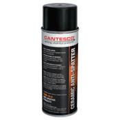 Cantesco Ceramic Anti-Spatter Spray, White, 16 oz Aerosol Can, 12 CT